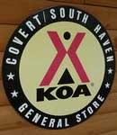 Covert South Haven KOA Campgrounds Logo