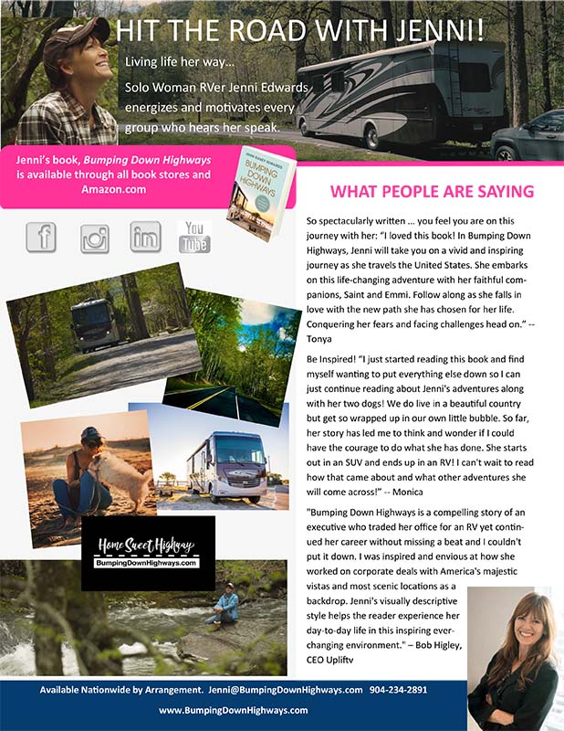 RV Living Media Sheet